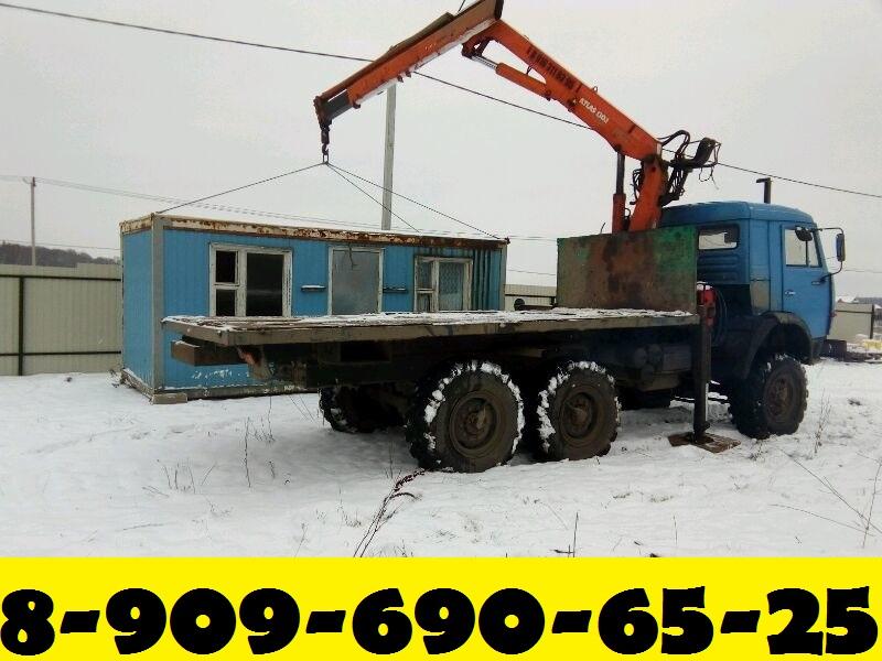 Предоставляем Услуги Манипулятора-Вездехода в Подольске - Подольском районе